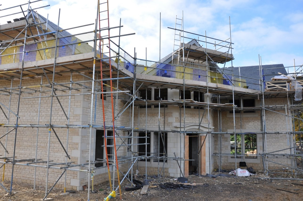Residential House Scaffold