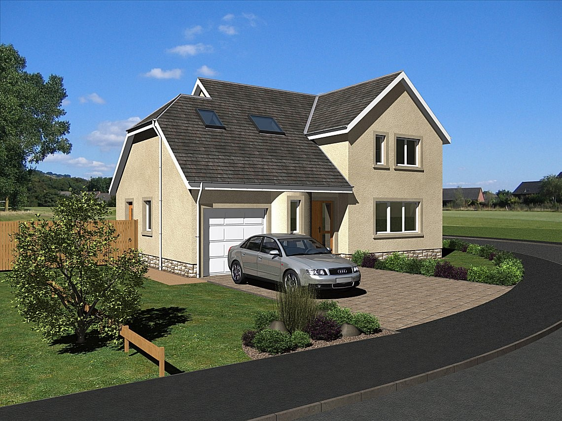 The Maxwell - A traditional 3 bedroom two-storey home