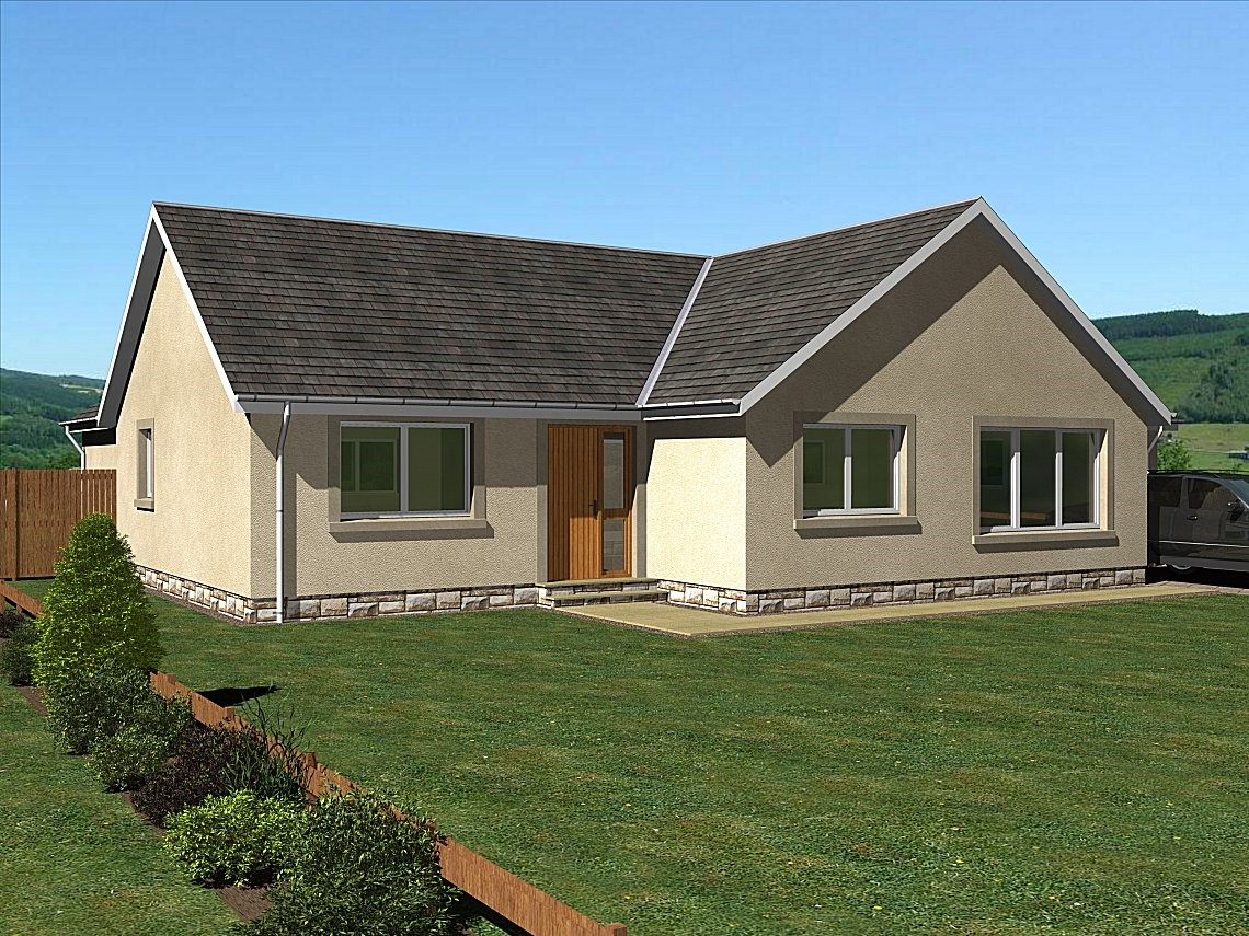 The Scott - An impressive 3 bedroom family bungalow