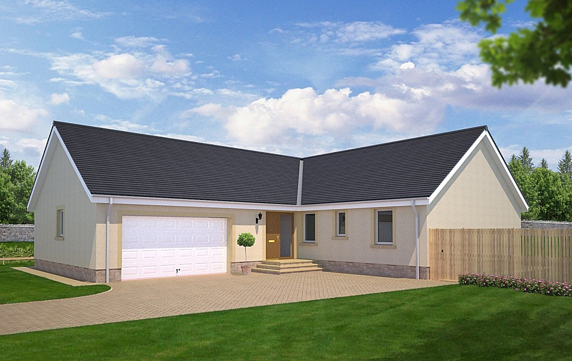A sizeable 4 bedroom family bungalow with double garage