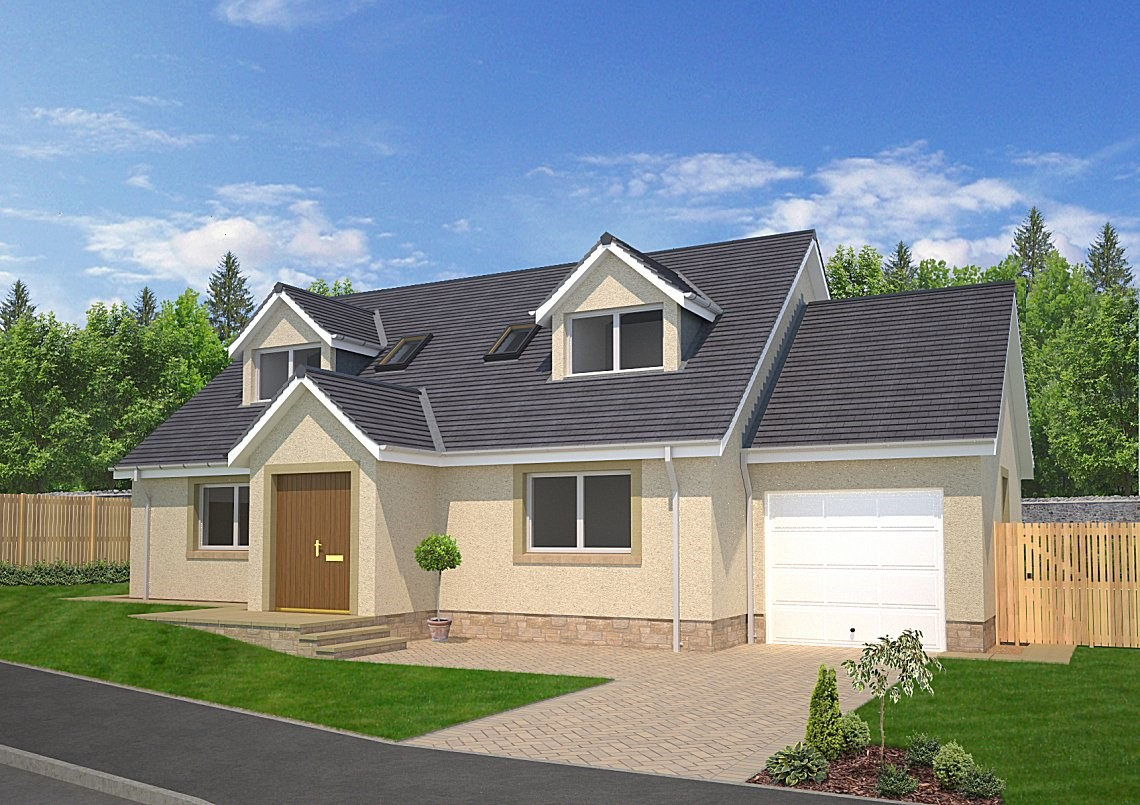 The Sutherland - An attractive cottage style 4 bedroom family home