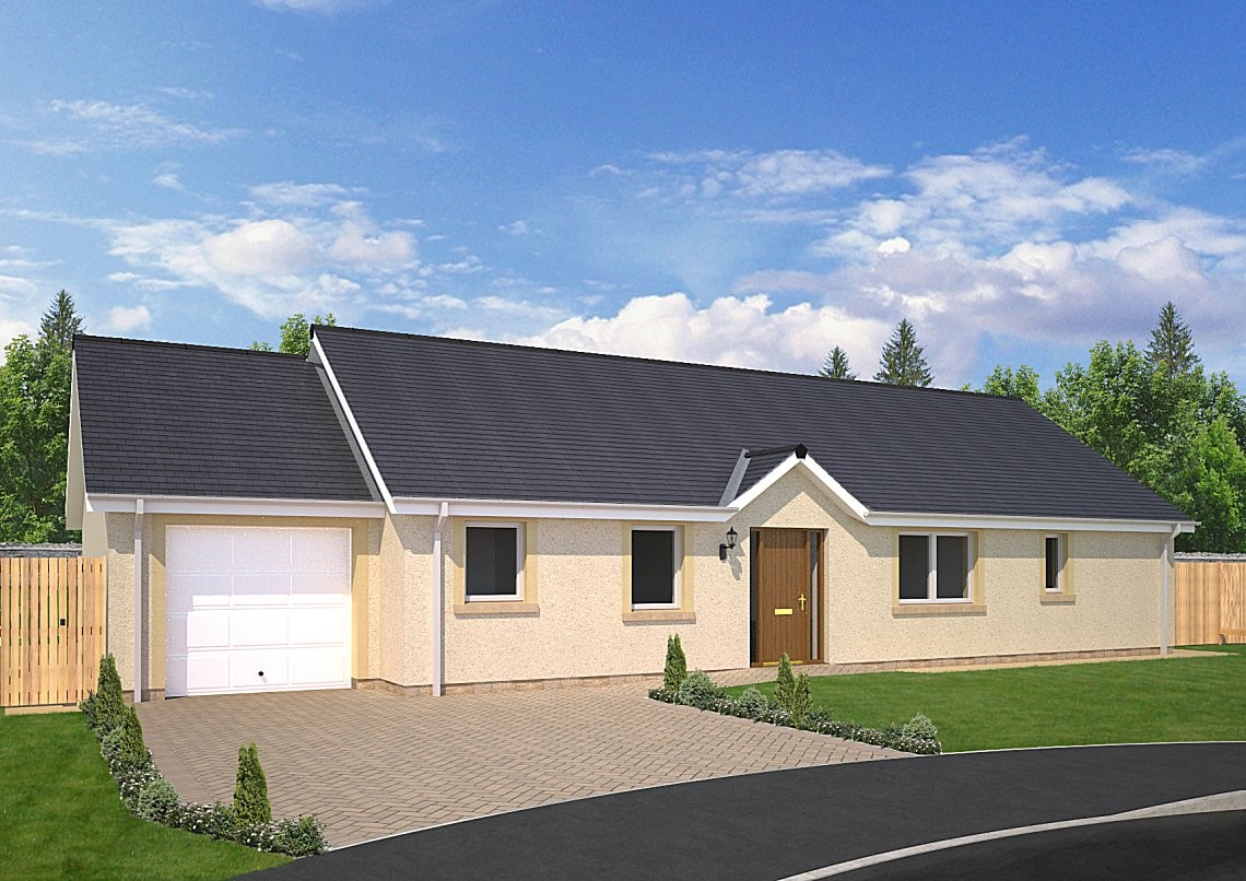 The Fairbairn - A classic 3 bedroom family bungalow