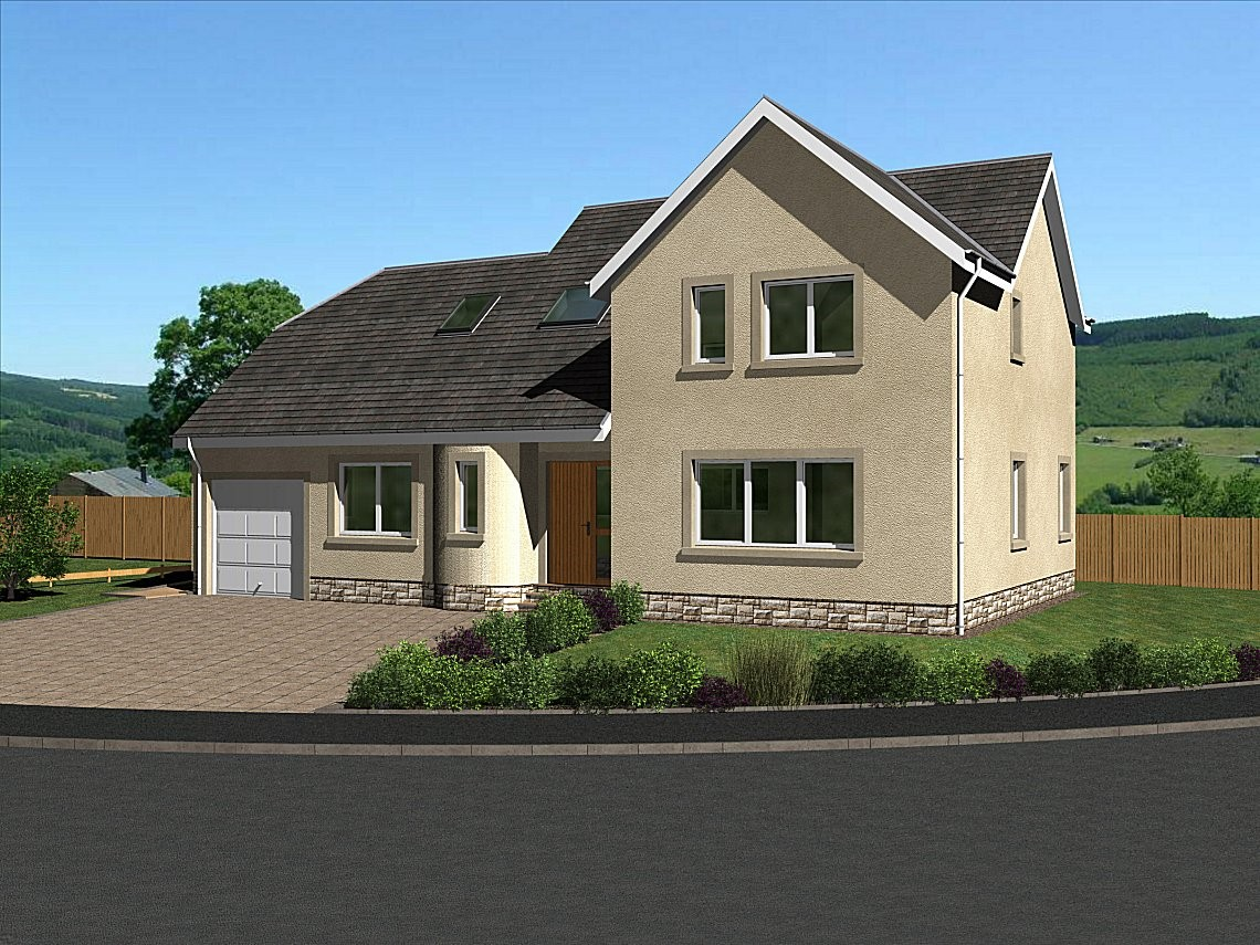 The Stichill - A stunning 4 bedroom two-storey home