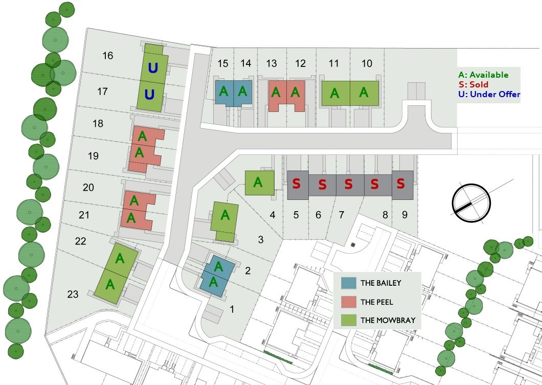 North Broomlands Site Layout